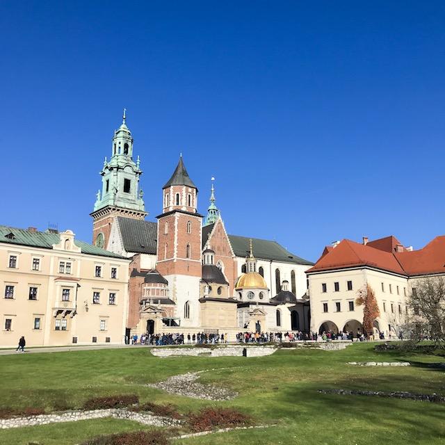 Innenhof der Wawel