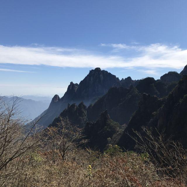Ausblick in den Yellow Mountains