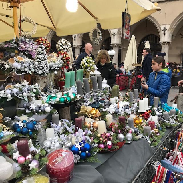 Weihnachtsmarkt Krakau Kranz