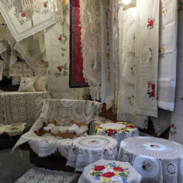 Weihnachtsmarkt Krakau Decken