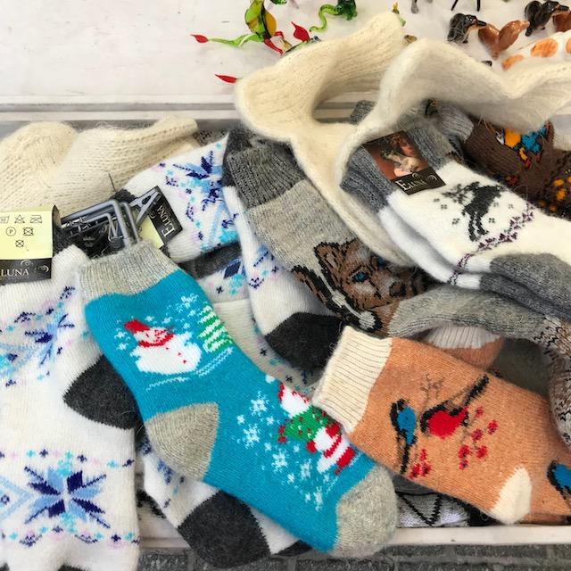 Weihnachtsmarkt Krakau Socken