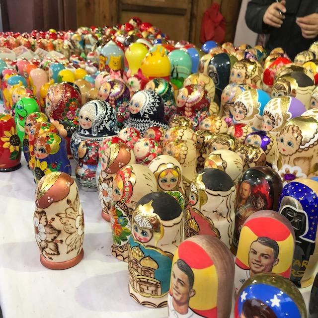 Weihnachtsmarkt Krakau Matrjoschka