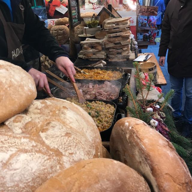 Weihnachtsmarkt Krakau Essen