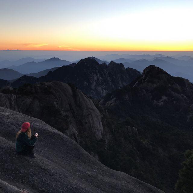 Panorama in den Bergen der Yellow Mountains