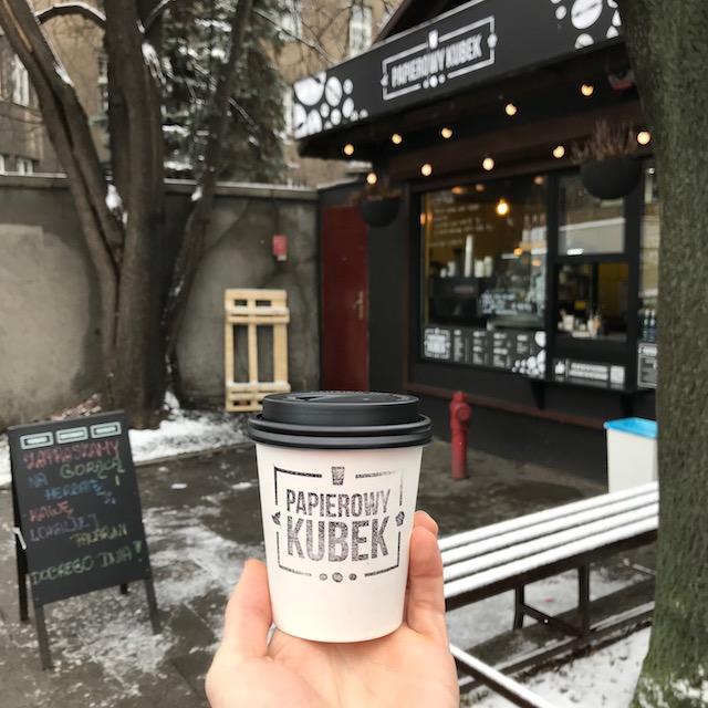 Kaffee-To-Go Papierowy Kubek
