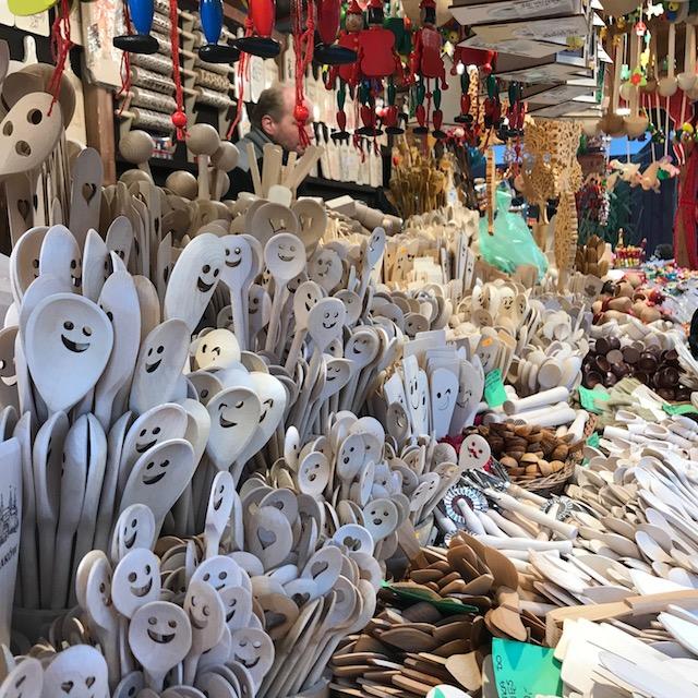 Weihnachtsmarkt Krakau Löffel