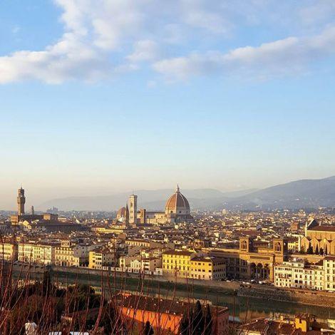 Blick auf die Stadt von Piazzale Michelangelo