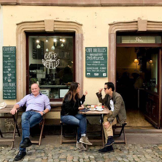Café Bretelles in Petite France!