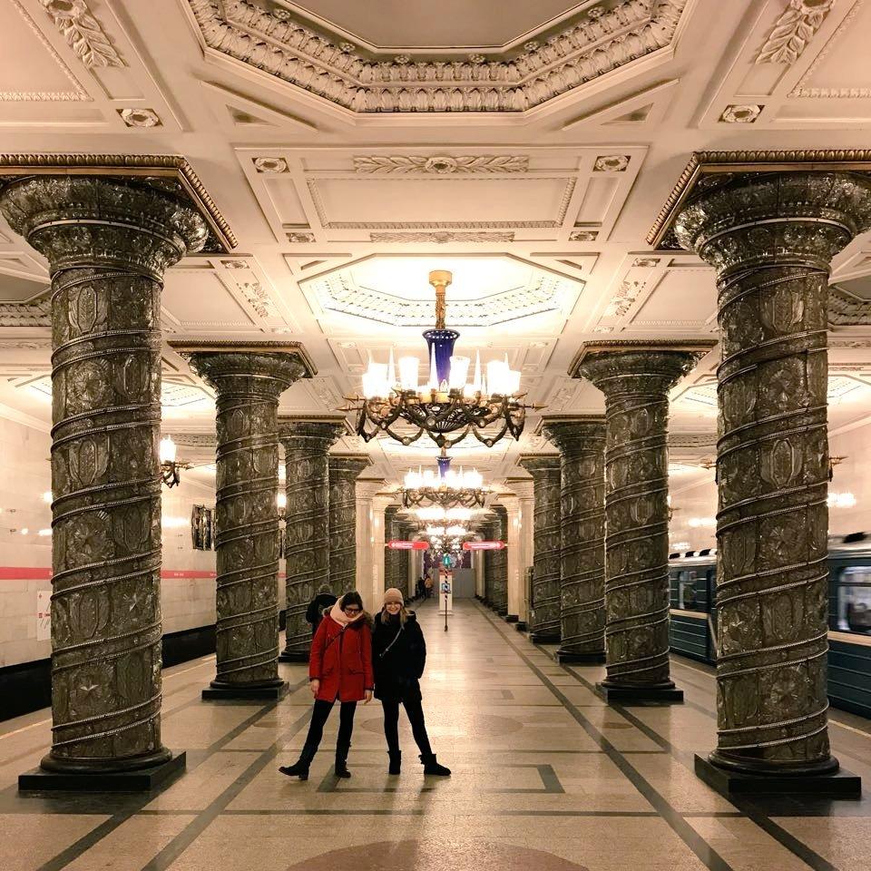 Wie sieht es in St.Petersburg eigentlich unter der Erde aus? - Prunkvoll…