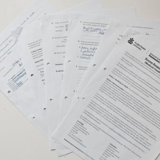 Sammlung von Dokumenten