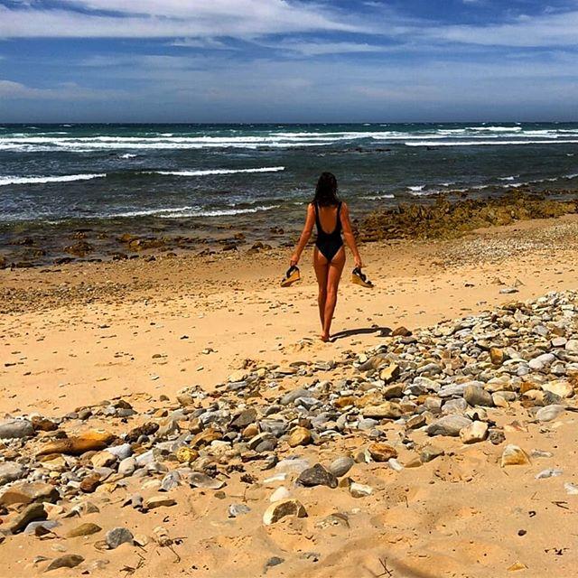 Stella am Strand
