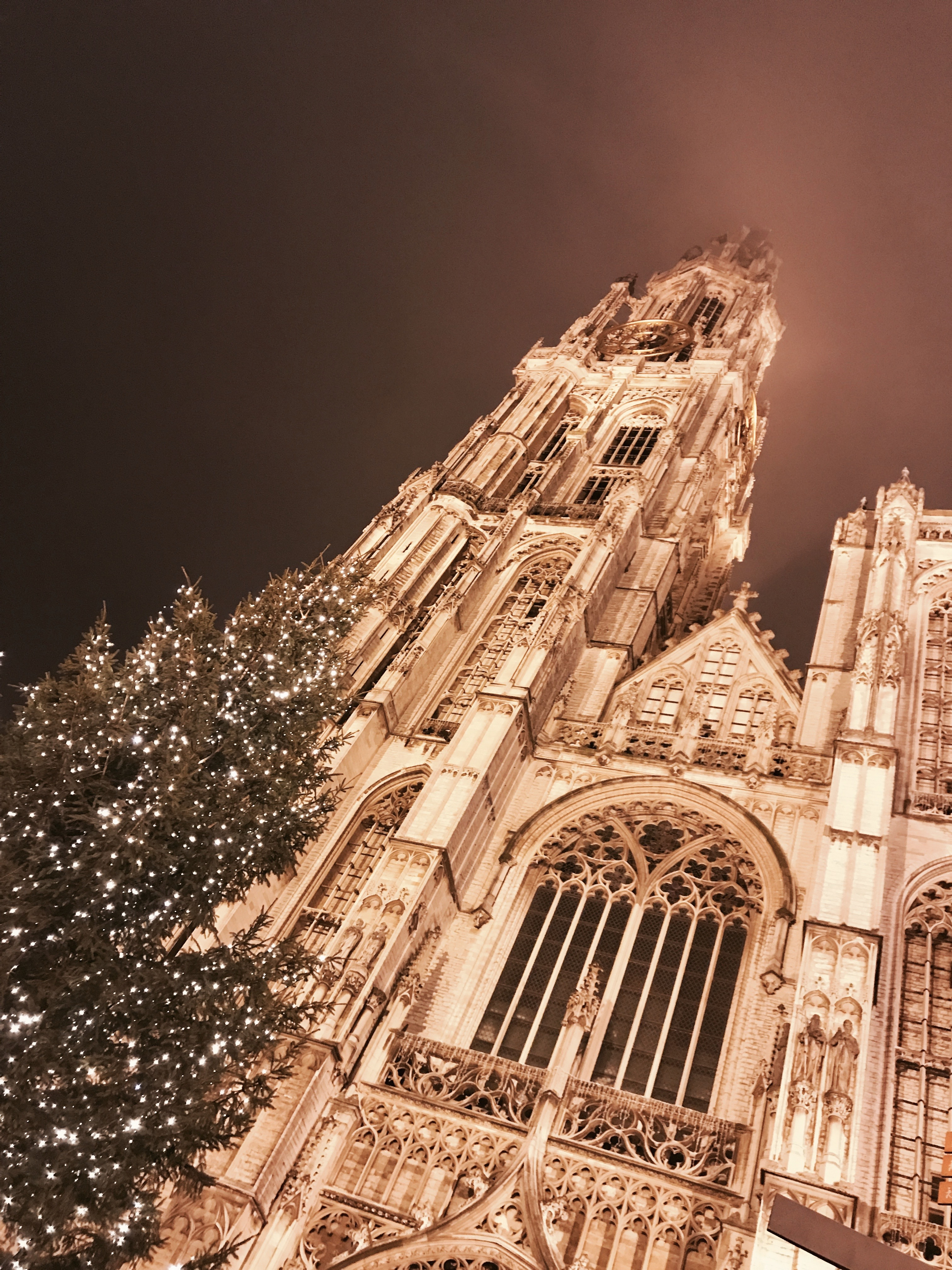Die Liebfrauenkathedrale in Antwerpen