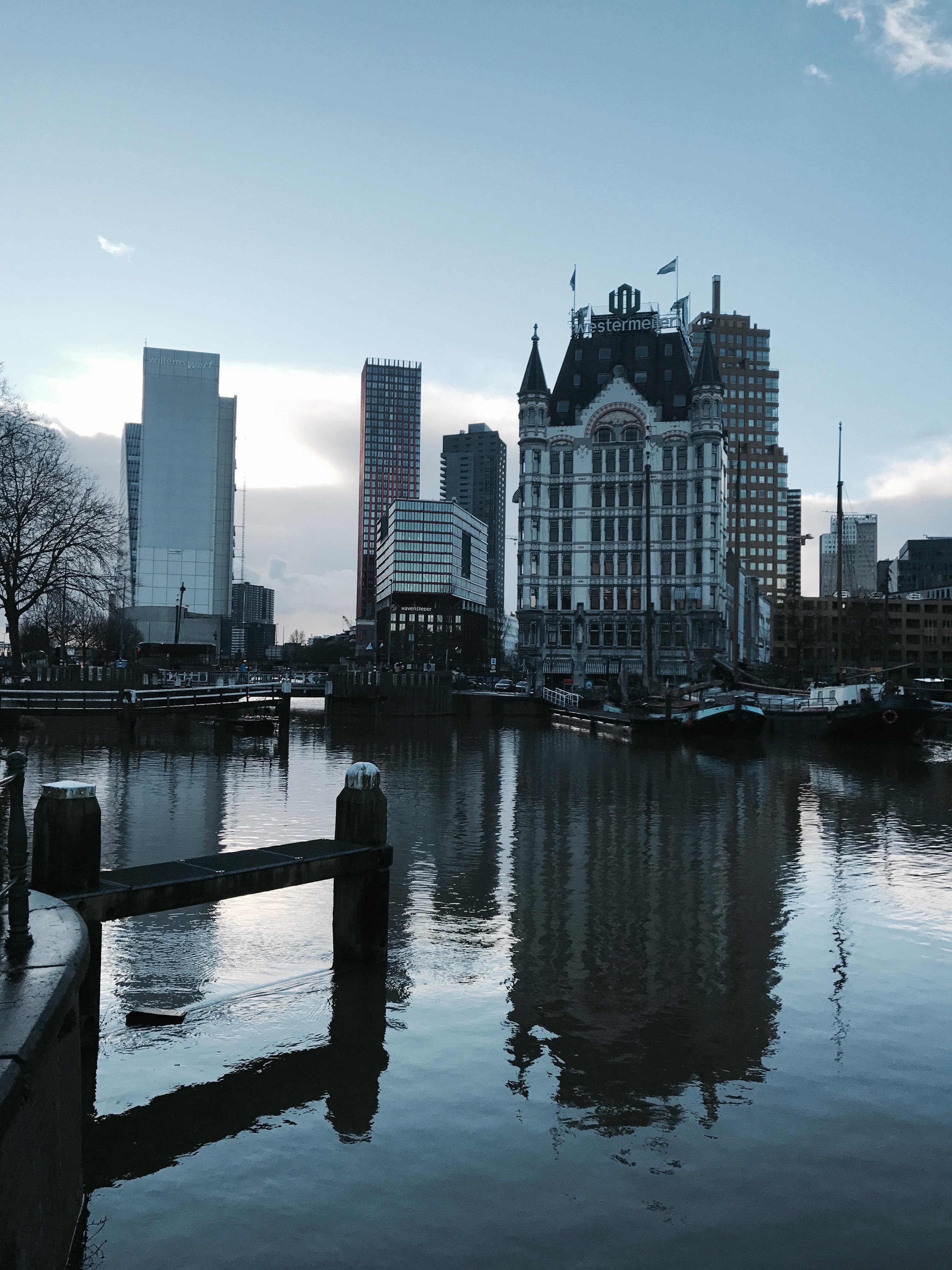 Gebäudekomplexe in Rotterdam