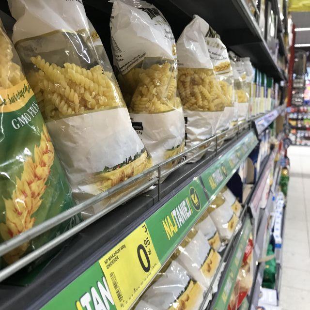 Nudeln Krakau Supermarkt
