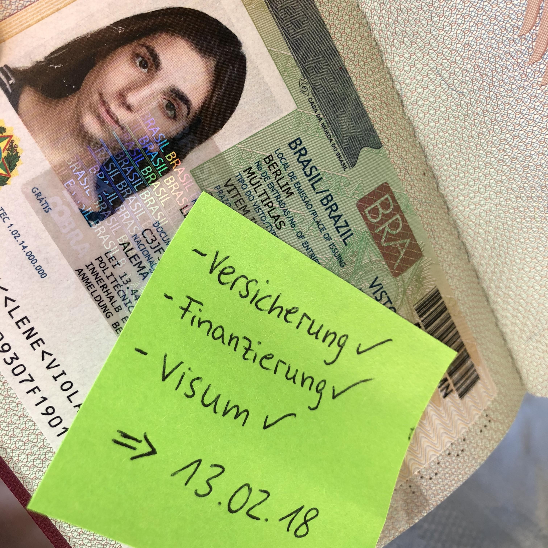 Das verflixte Visum für Brasilien