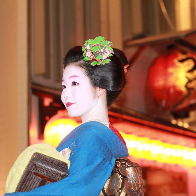 Zu Besuch in Kyoto: Begegnung mit einer Geisha