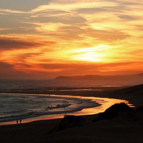 Eine meiner Lieblingsbeschäftigungen hier in Südafrika: den Sonnenuntergang…