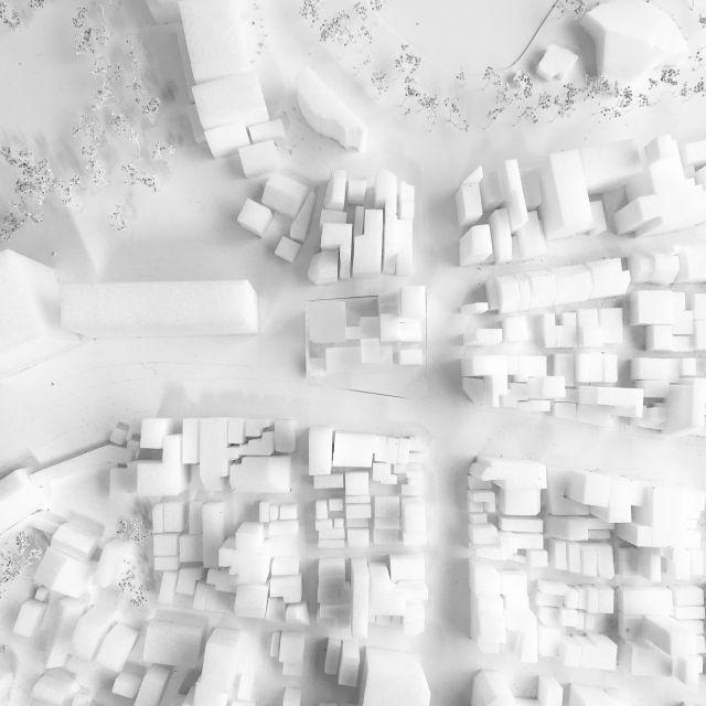 Architekturmodell in Straßburg