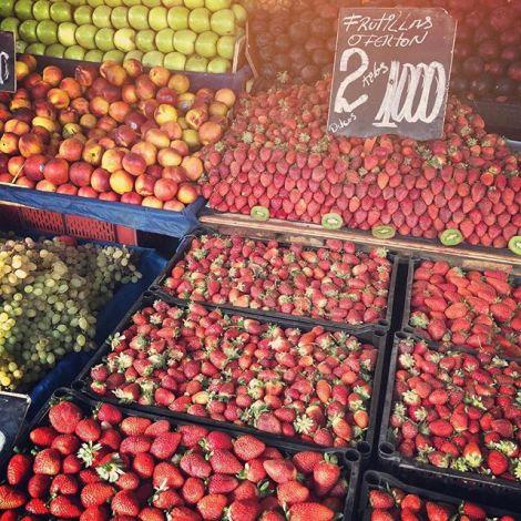 Heaven, Leute! Im Gegensatz zu den restlichen Lebensmitteln, ist Obst und…