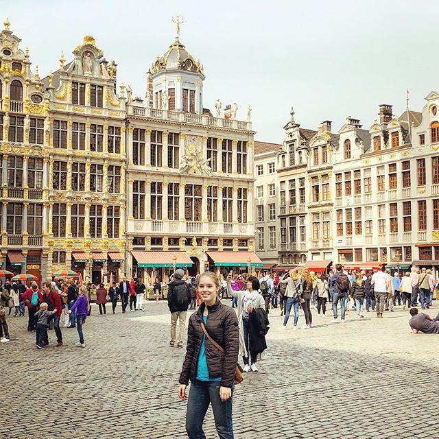 """Der """"Grand-Place"""" ist das Zentrum und gleichzeitig die größte…"""