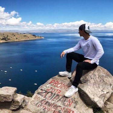 Man könnte meinen man schaut aufs Meer 👀 Wusstet ihr, dass der #Titicacasee…