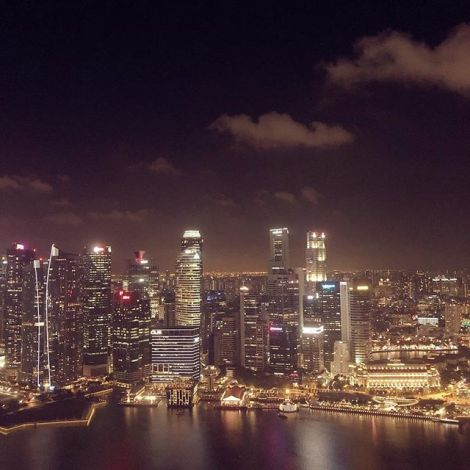 Singapur kann zwar nicht mit dem weltgrößten Fontänenpark auftrumpfen,…