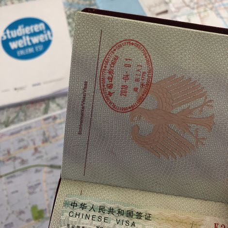 Chinesisches Visum