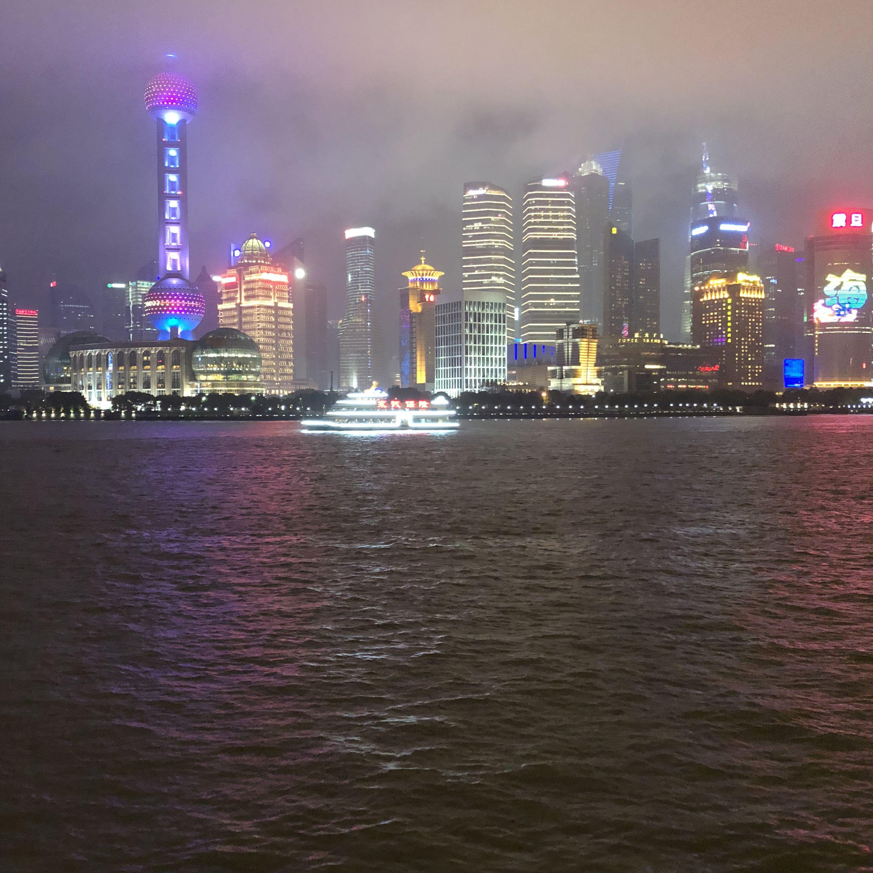Das obligatorische Shanghai-Skyline-Foto