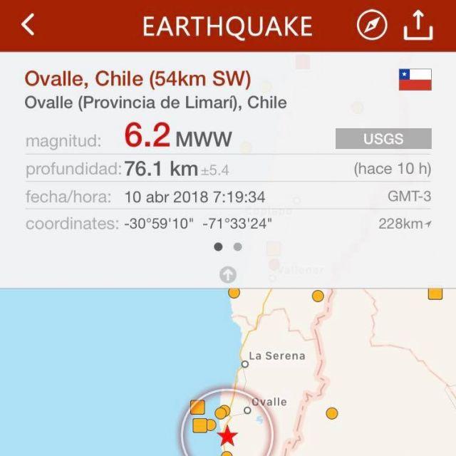 Heute morgen wurde ich sehr unsanft von diesem Erdbeben geweckt. Hat sich auf…