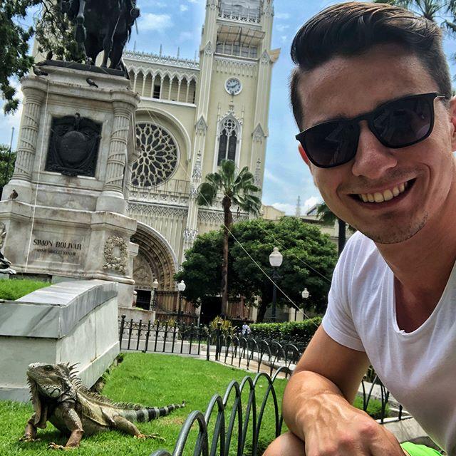 Am meinem letzten Tag in #Guayaquil habe ich noch ein bisschen mit den Iguanas…