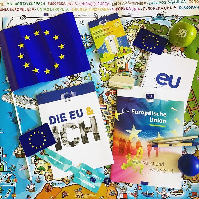 Anlässlich des Europatags hatten heute viele EU-Institutionen ihre Türen für…