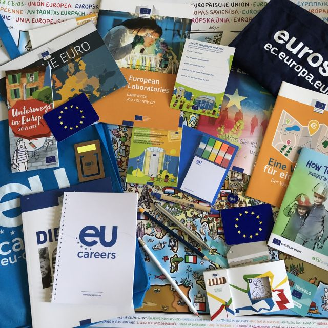 Informationsmaterial der EU