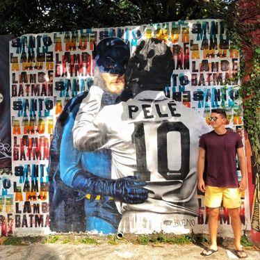 Batman und Pelé 🎬⚽️#ErlebeEs #SaoPaolo #Brasilien #Reisen