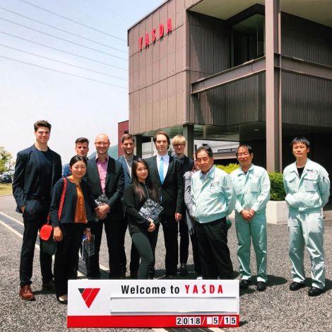 """Unsere zweite Exkursion im """"Sprache und Praxis in Japan"""" Stipendium des…"""