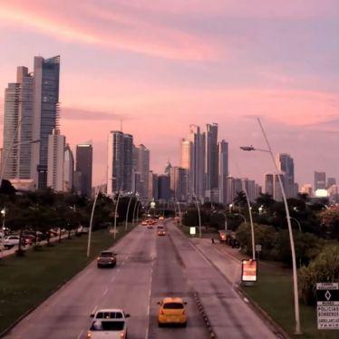 Sunsets in #PanamaCity 🌝🌚 #ErlebeEs #Panama #Reisen