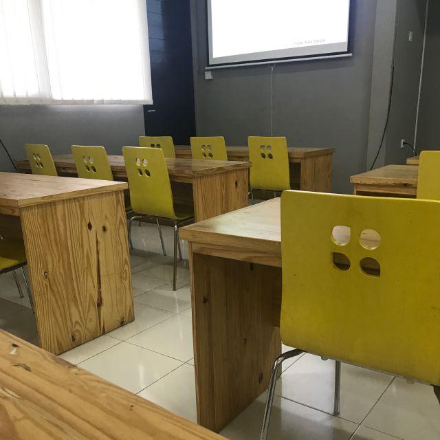 GoBalis Vorlesungsraum