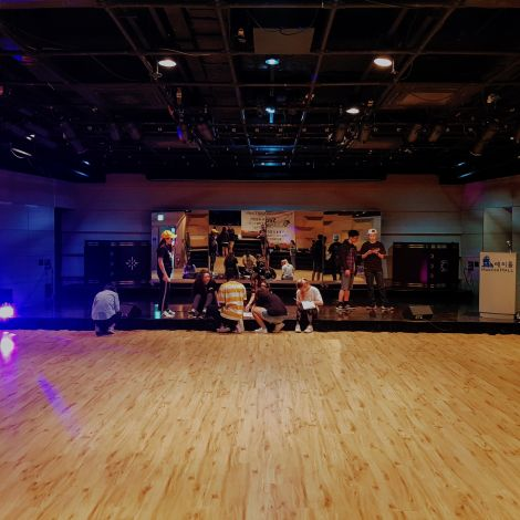 Der Hauptsaal des Seoul Global Cultural Center