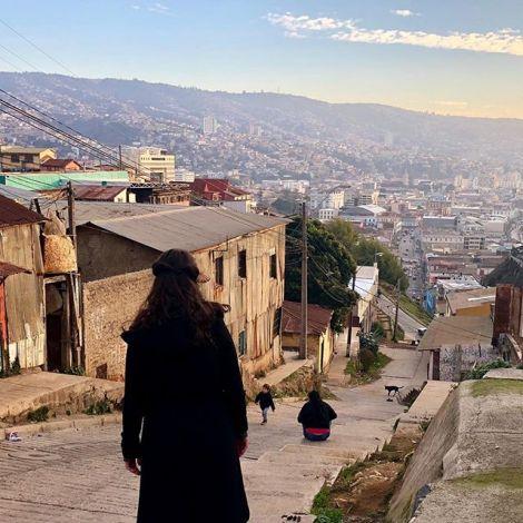 Das ist mein Valparaíso: mit allen Ecken und Kanten. Mit Obdachlosen und…