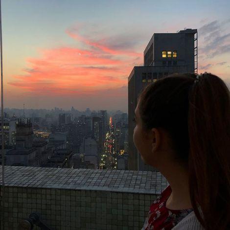 Über den Dächern von #SaoPaulo 🇧🇷 Wobei was heißt über den Dächern…