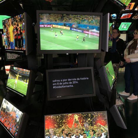 Passend zum Anlass bin ich im Fußballmuseum gewesen und habe dort mein…