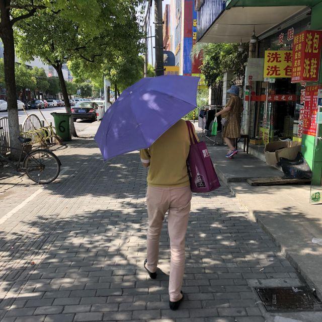 Wenn in Shanghai mal die Sonne scheint…