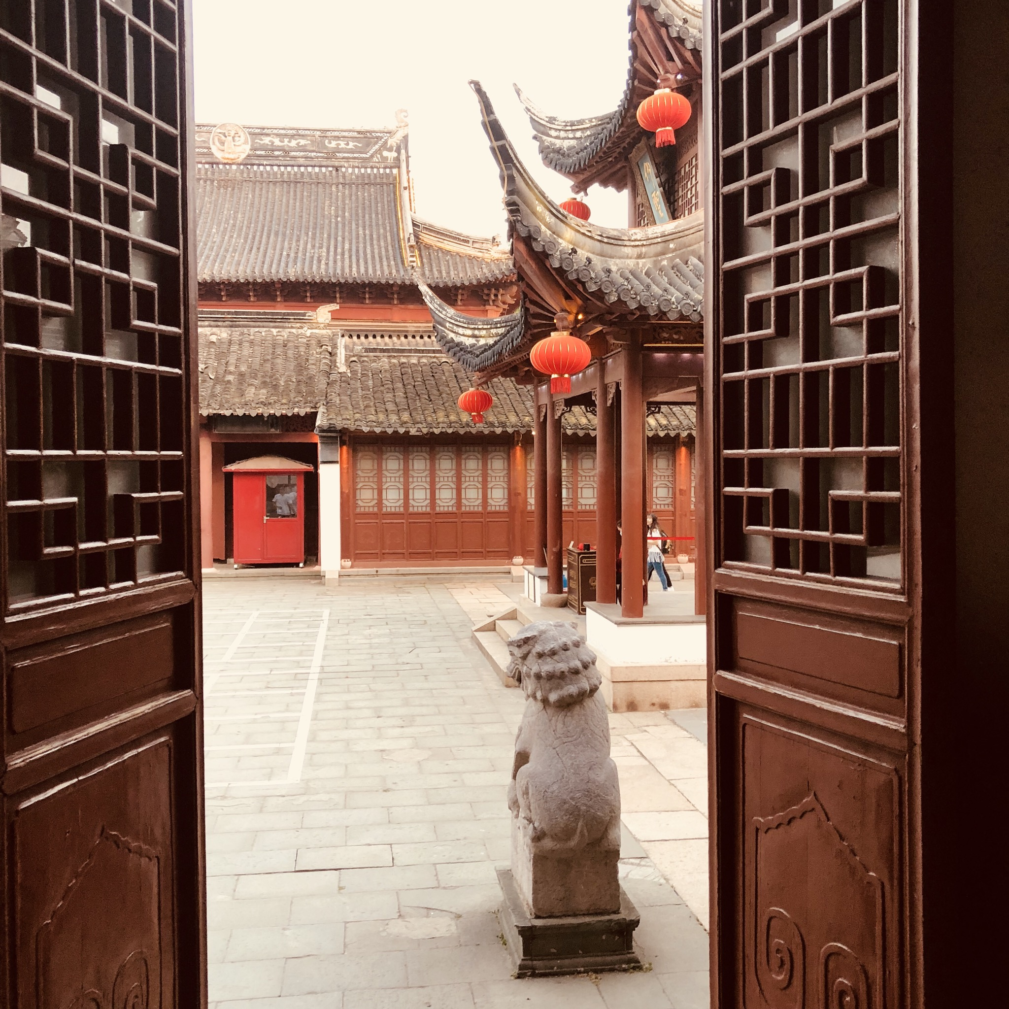 Der Hektik Shanghais entkommen