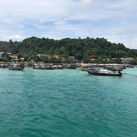 Seit einigen Tagen sind Teile der Insel Koh Phi Phi gesperrt und unzugänglich…