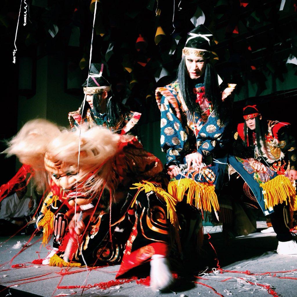 Die traditionelle Theaterkunst in #Hiroshima ist #Kagura - im Gegensatz zum…