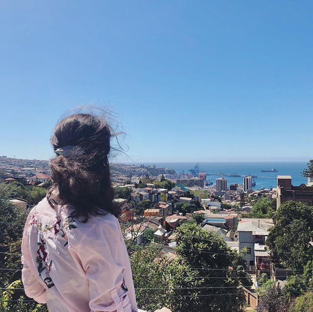 Das Beste an Valparaíso: Es liegt am Meer! Mit dem Pazifischen Ozean vor der…