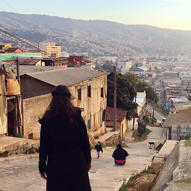 Zu meinem Takeover gehört auch, euch von der Realität in Valparaíso zu…