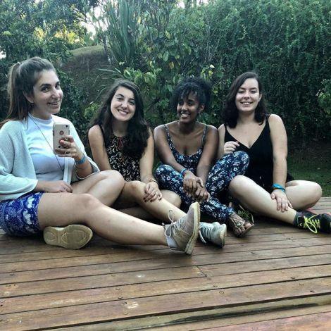 So schnell machst du dir #Freunde in #Brasilien 💕 Die Drei haben mich am…