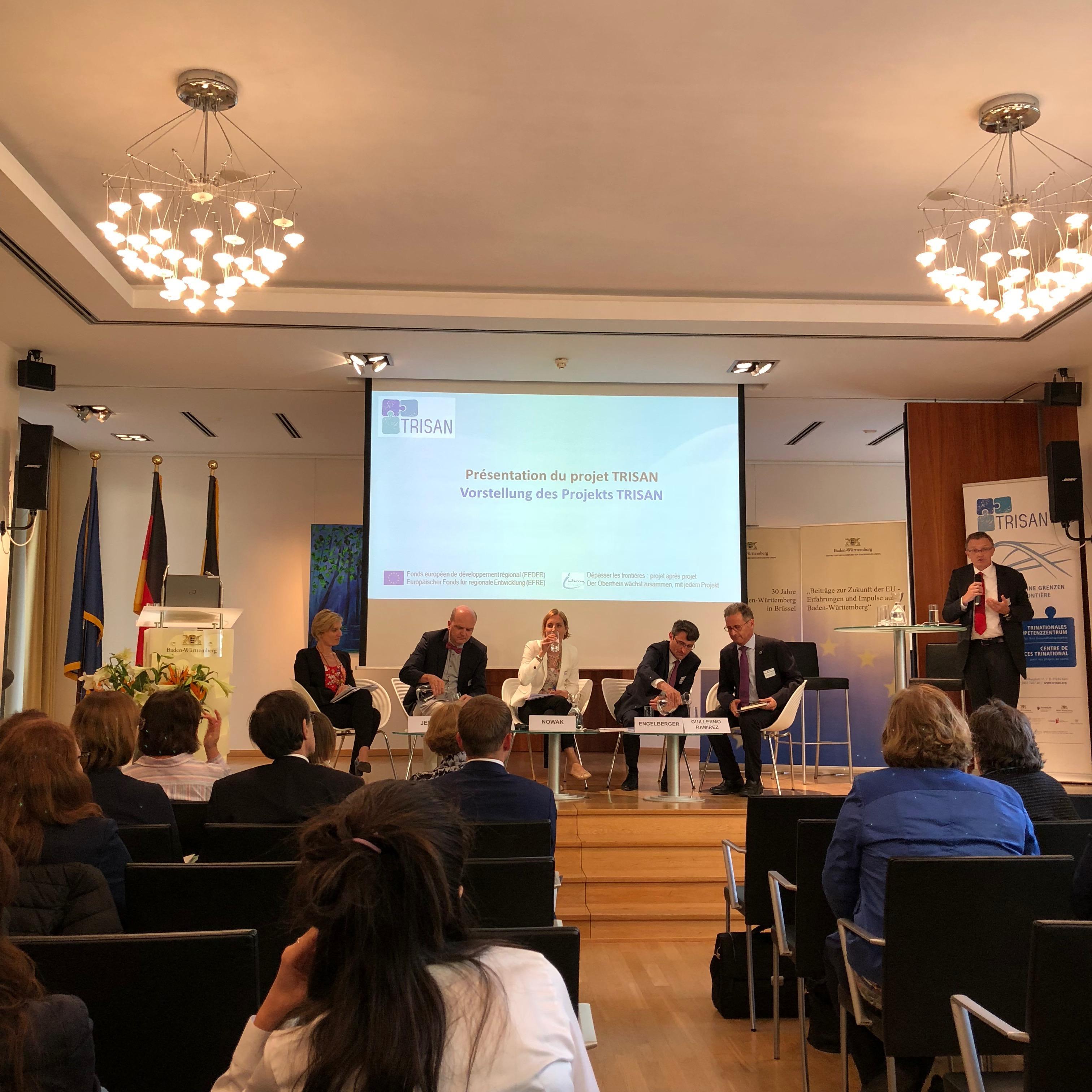 Veranstaltungen in Brüssel: Zwischen Diskussion und Buffet
