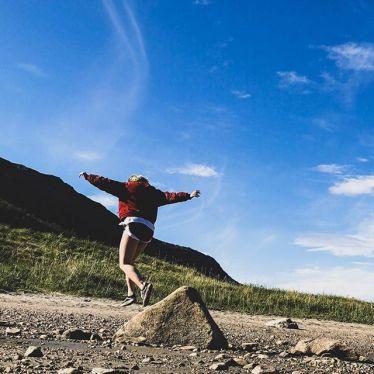 Wenn du an norwegischen Fjorden entlang fährst und einfach alle 200 m stehen…