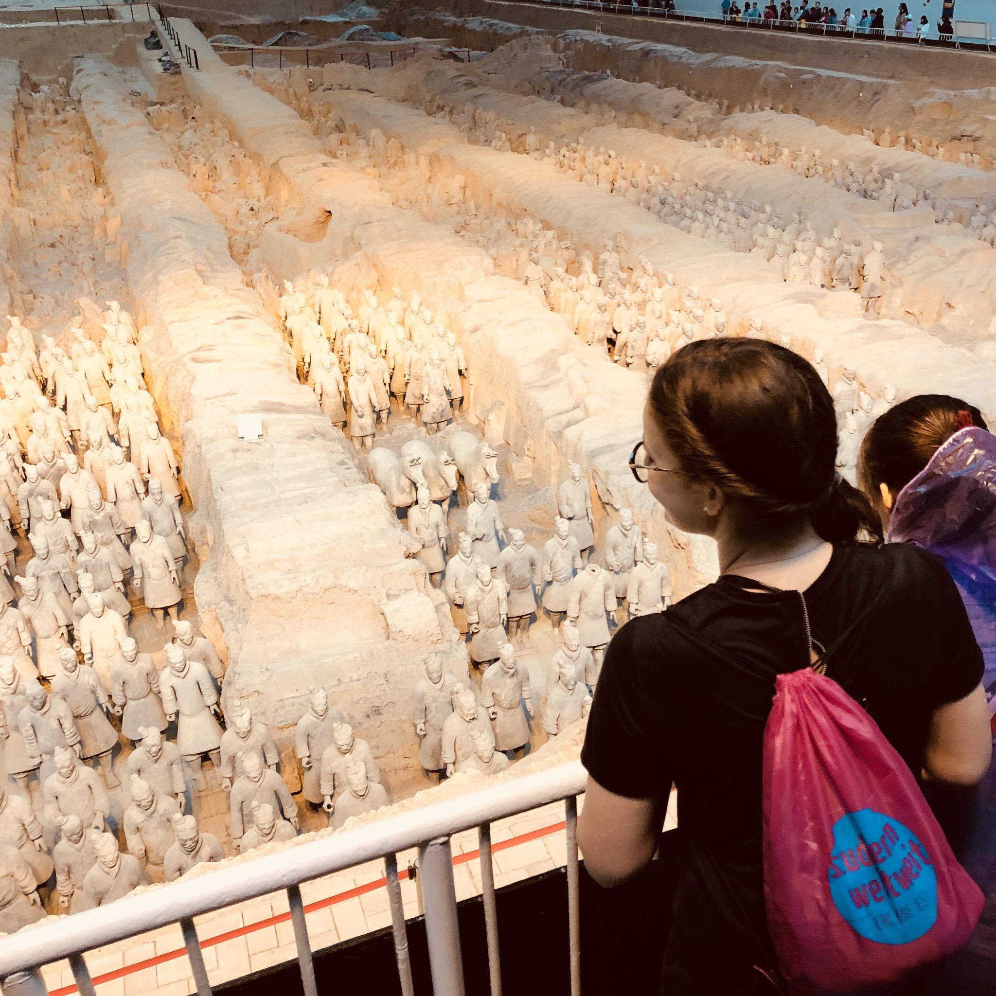 Terrakotta-Armee: Zu Besuch beim achten Weltwunder